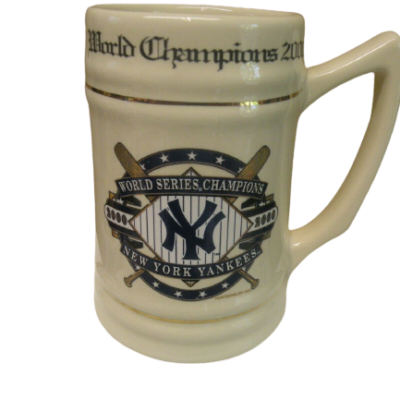 NEW YORK YANKEES 2000 WORLD CHAMPIONSHIP STEIN
