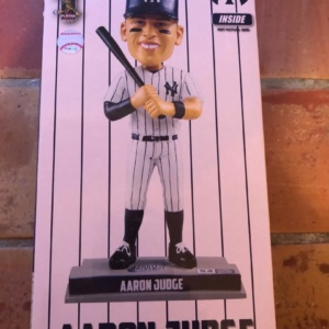 "2018 NEW YORK YANKEES AARON JUDGE ""52 HR"" UNIVERSE FOREVER FOCO BOBBLEHEAD"