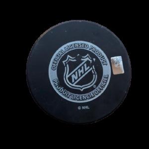 New York Rangers vs. New York Islanders 2014 NHL Stadium Series Official Game Puck
