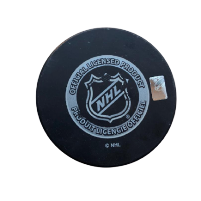 New York Rangers vs. New York Islanders 2014 NHL Stadium Series Official Game Puck