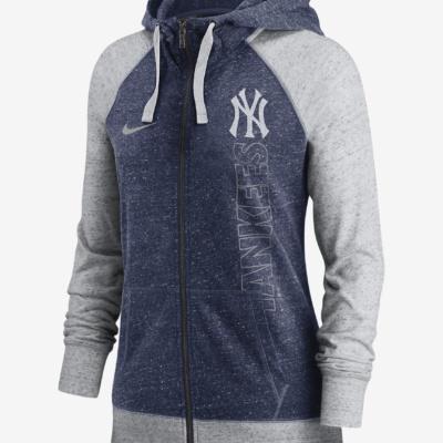 Women's Full-Zip Hoodie New York Yankees)