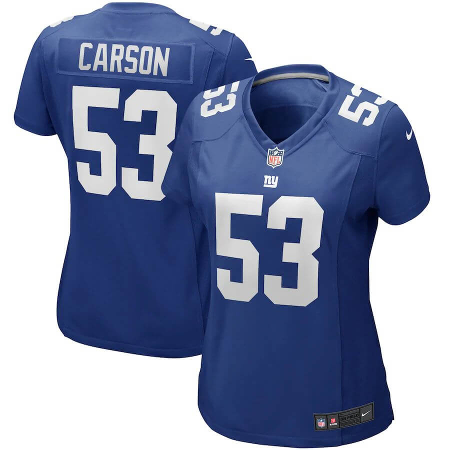Harry Carson New York Giants Nike Women's Game Retired Player Jersey -