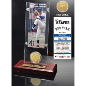 Tom Seaver Hall of Fame Ticket & Coin