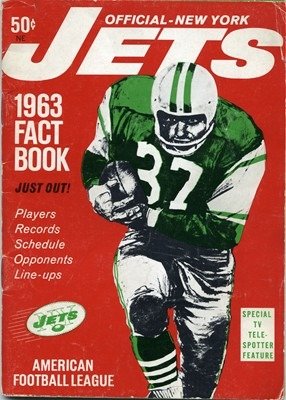 1ST YEAR AS JETS YEARBOOK – INAUGURAL JETS SEASON (AFL)