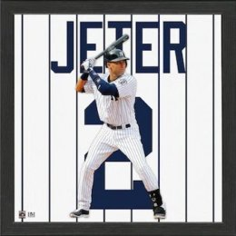 Derek Jeter New York Yankees Framed Photo