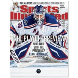 Henrik Lundqvist featured on Sports Illustrated NHL playoff preview cover!