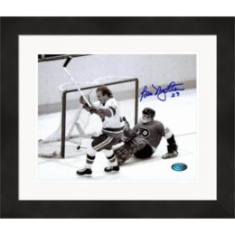 Autographed Bob Nystrom Picture - Stanley Cup Winning Goal)