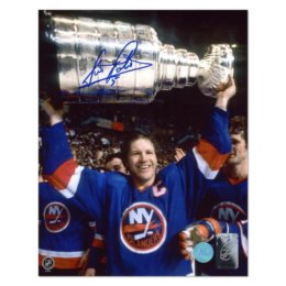 Signed Denis Potvin Photograph - Stanley Cup Champion