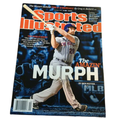 Daniel Murphy New York Mets Sports Illustrated November 2, 2015