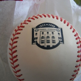 2008 YANKEES FINAL SEASON OFFICIAL YANKEE STADIUM BASEBALL