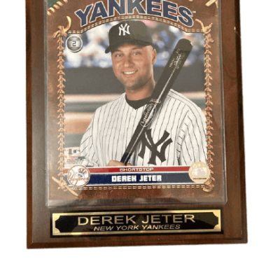 Derek jeter framed photo memorabilia