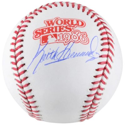 Keith Hernandez New York Mets Autographed 1986 World Series Baseball