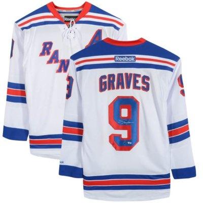 Adam Graves New York Rangers Autographed Jersey