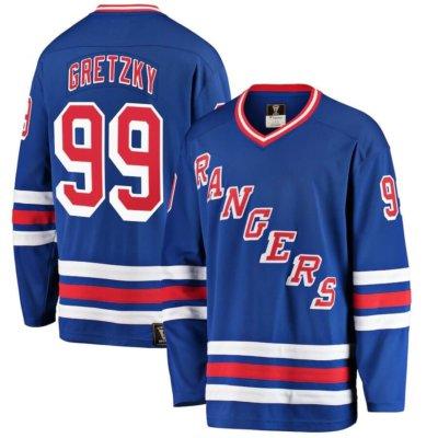 New York Rangers Wayne Gretzky Breakaway Retired Player Jersey