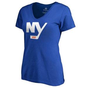 Women's New York Islanders Alternate Logo V-Neck T-Shirt