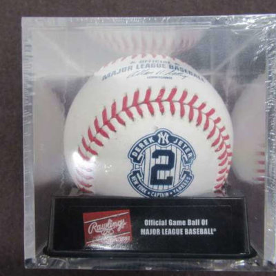 MLB 2014 DEREK JETER RETIREMENT BASEBALL