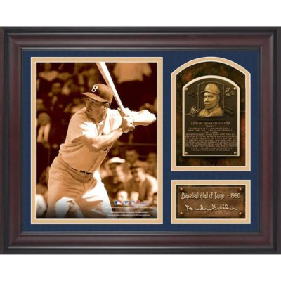 Duke Snider Brooklyn Dodgers Baseball Hall of Fame Collage