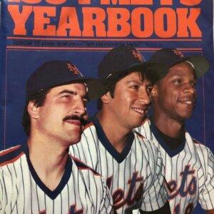 1984 mets yearbook