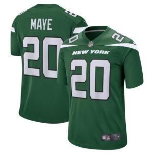 Men's New York Jets Marcus Maye Nike Gotham Green Game Jersey