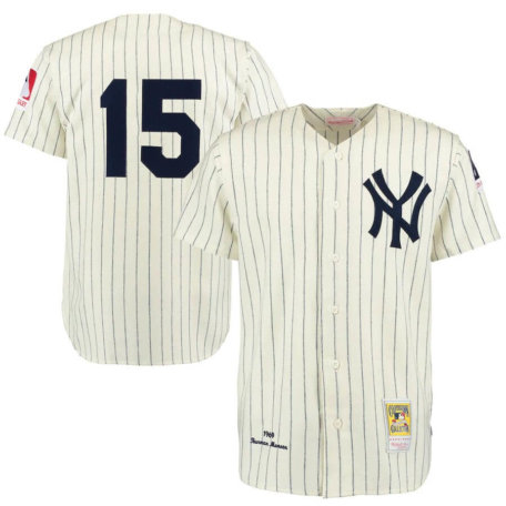Thurman Munson New York Yankees 1969 Authentic Jersey