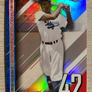 Jackie Robinson - 2020 Topps Chrome - Brooklyn Dodgers HOF