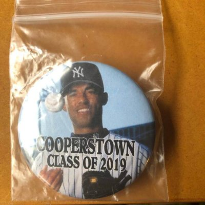 mariano rivera cooperstown pin