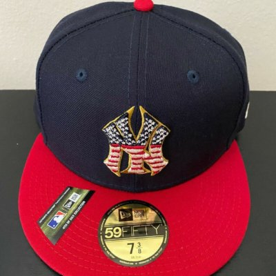 New York Yankees 4th Of July Hat New Era Authentic 59FIFTY On-Field