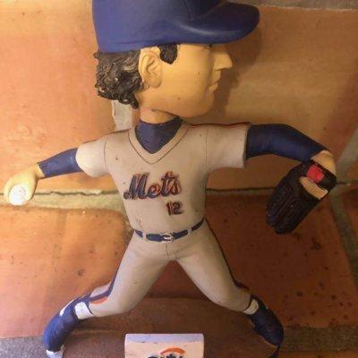 Ron Darling SGA 2013 Mets Bobblehead Statue