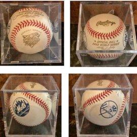 2000 World Series Subway Series Baseball New York Yankees Vs. Mets