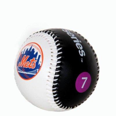 Mets and Yankees NYC Subway Series Baseball