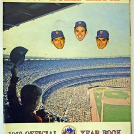 NY METS YEARBOOK 1969