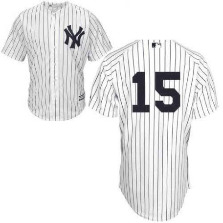 Thurman Munson No Name Jersey - Number Only by Majestic