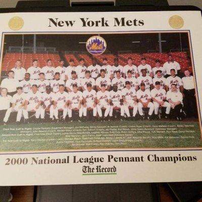 NEW YORK YANKEES/NEW YORK METS 2000 TEAM PHOTOS