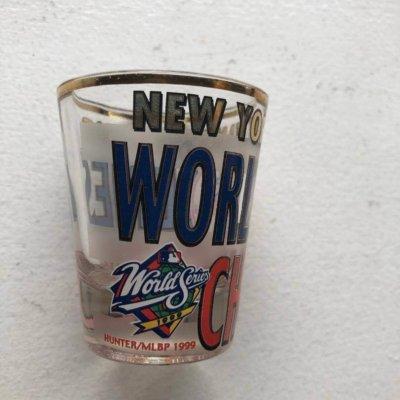 NY YANKEES WORLD SERIES SHOT GLASS