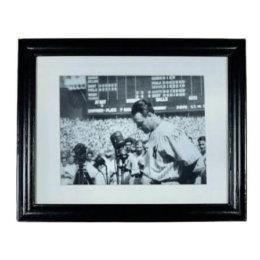 Lou Gehrig – N.Y. Yankees – Farewell Speech Yankee Stadium