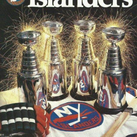 1983-84 New York Islanders yearbook