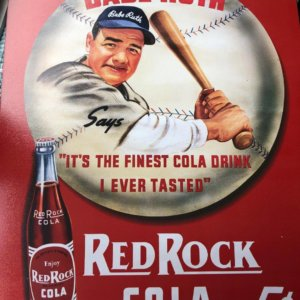 BABE RUTH COLA ADVERTISMENT