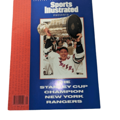 Sports Illustrated Magazine - NY Ranger Stanley Cup Champions 1994