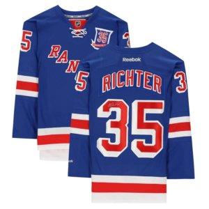 Mike Richter New York Rangers jersey