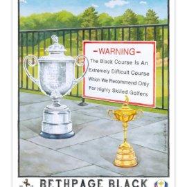 2019 PGA Championship – Bethpage State Park Black Course – Poster